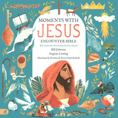 The Moments with Jesus Encounter Bible (Hard Cover)
