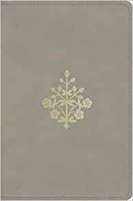 ESV Compact Bible, TruTone, Stone, Branch Design (Imitation Leather)