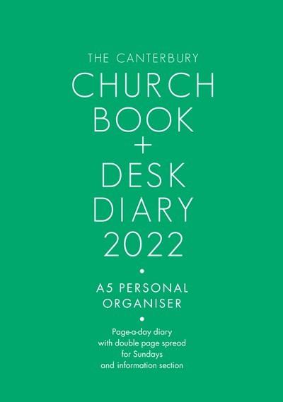 Canterbury Church Book & Desk Diary 2022 A5 Edition (Diary)