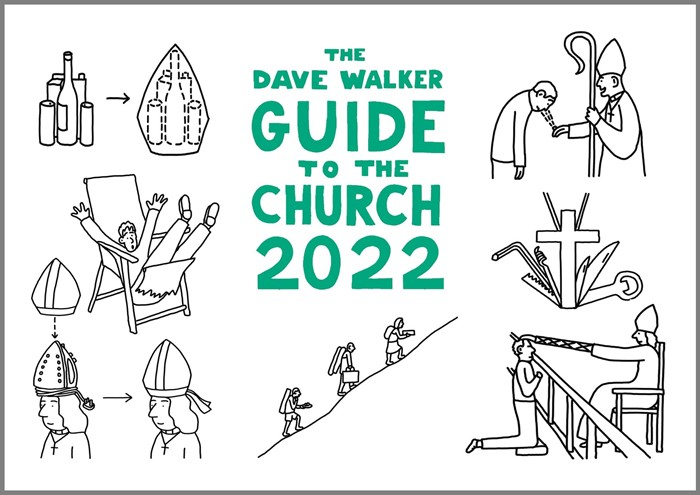Dave Walker Guide to the Church 2022 Calendar (Calendar)