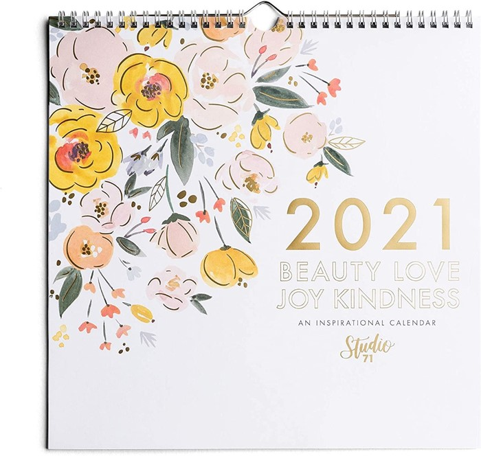 2021 Calendar Beauty Love Joy Kindness (Calendar)