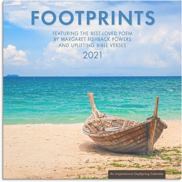 2021 Calendar Footprints (Calendar)