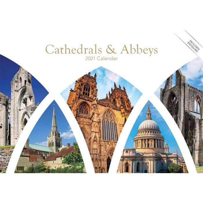 Cathedrals and Abbeys 2021 Calendar (Calendar)