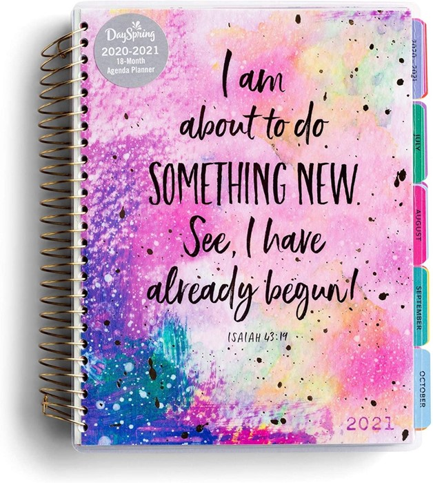 2021 Agenda Planner: Something New (Paperback)