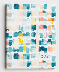 2021 16 Month Planner: Brush (Hard Cover)