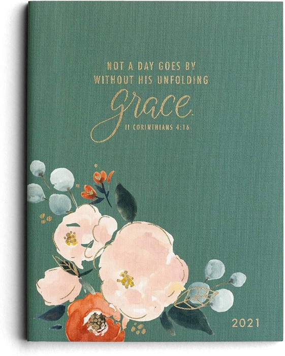 2021 16 Month Planner: Grace (Hard Cover)