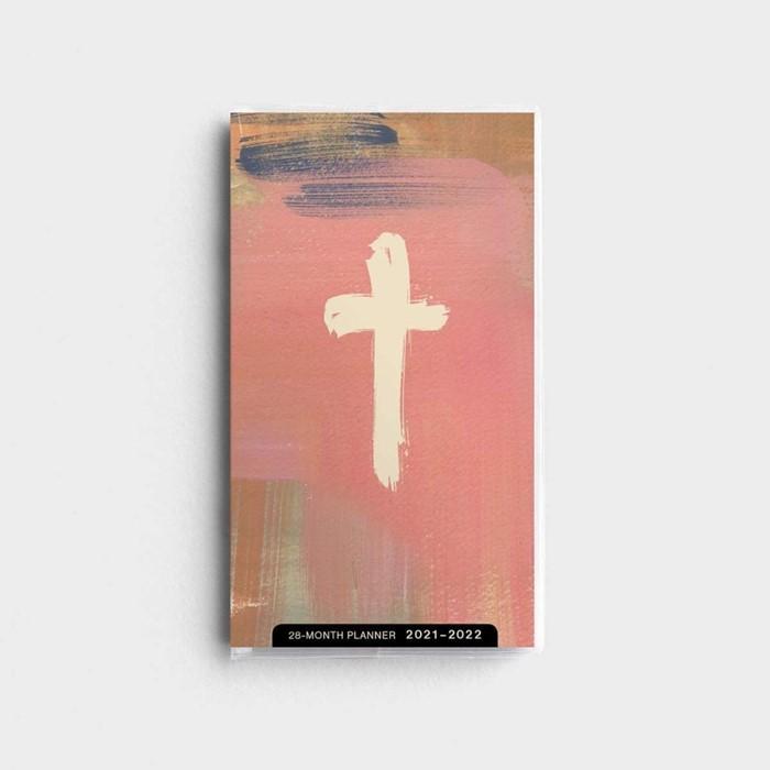 2021 28-Month Planner: Brush Cross (Paperback)