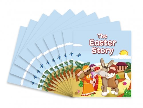 The Easter Story (pack of 10) (Paperback)