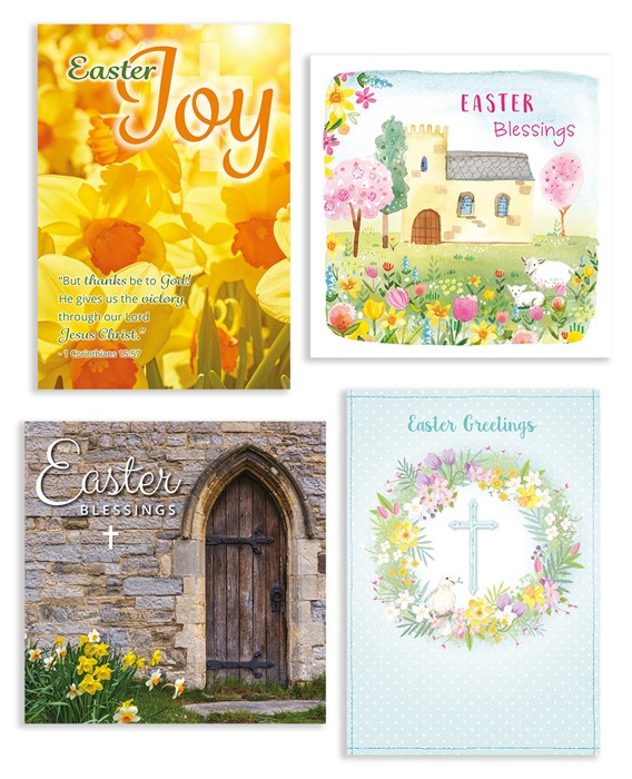 Compassion Charity Easter Cards Boxed Assortment (box of 20) (Cards)