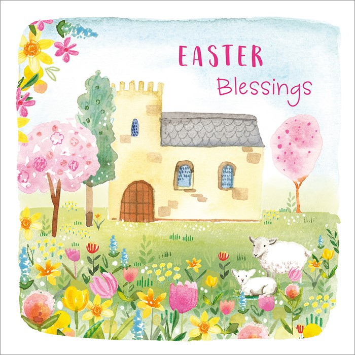 Compassion Charity Easter Cards: Church/Flowers (Pack of 8) (Cards)