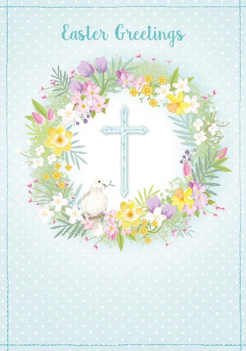 Compassion Charity Easter Cards: Cross/Dove (Pack of 8) (Cards)