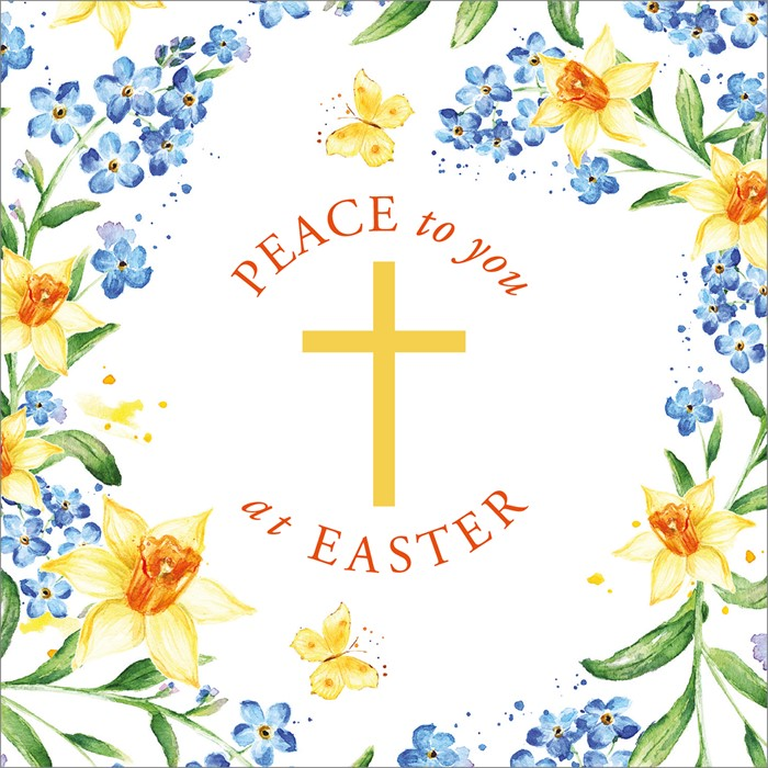 Compassion Charity Easter Cards: Easter Peace (Pack of 8) (Cards)