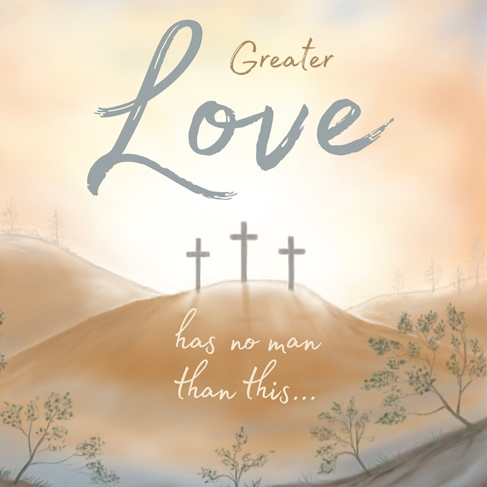 Compassion Charity Easter Cards: Greater Love (Pack of 8) (Cards)