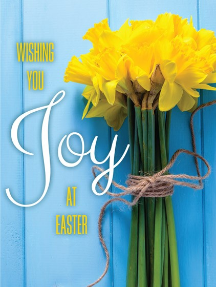 Easter Mini Cards: Wishing You Joy At Easter (Pack of 4) (Cards)