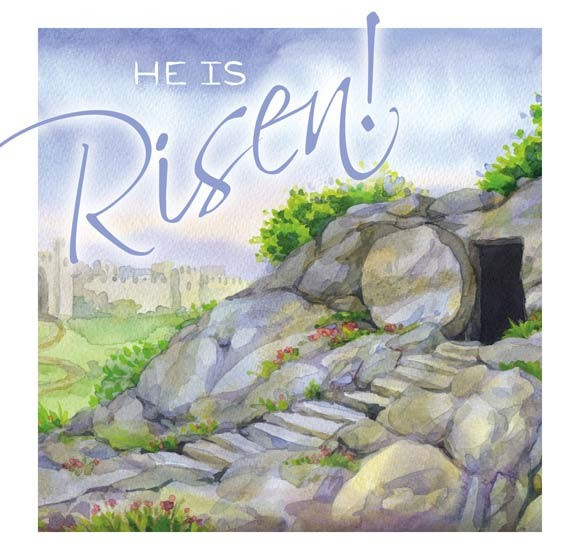 Easter Cards: He Is Risen (Pack of 5) (Cards)