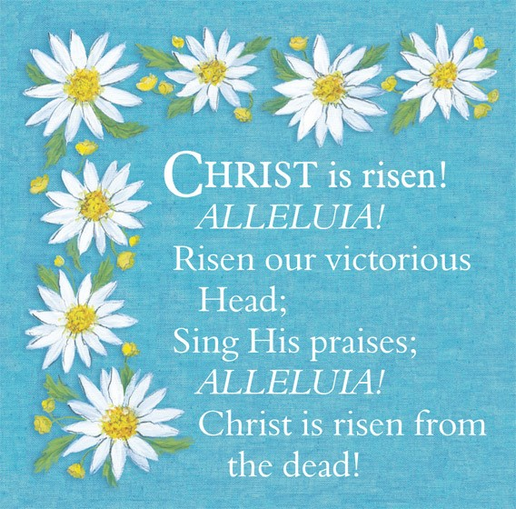 Easter Cards: Christ Is Risen (Pack of 5) (Cards)
