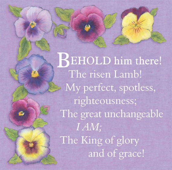 Easter Cards: Behold Him There (Pack of 5) (Cards)