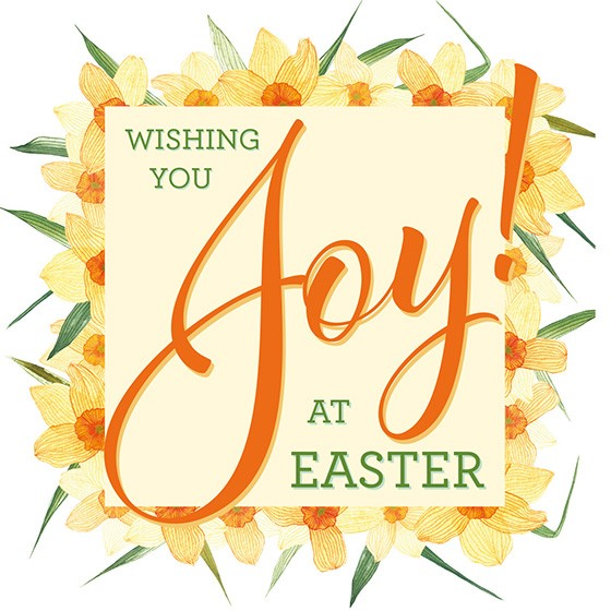 Easter Cards: Wishing You Joy At Easter (Pack of 5) (Cards)