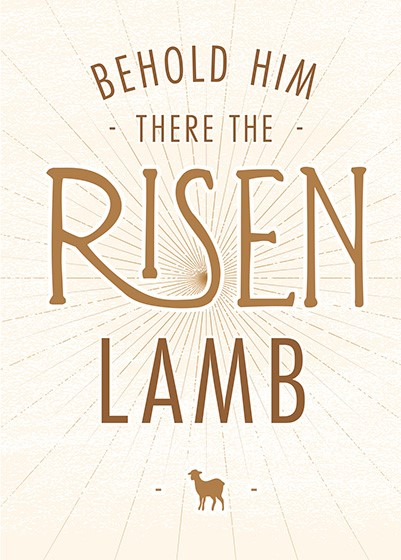 Easter Cards: Risen Lamb (Pack of 5) (Cards)
