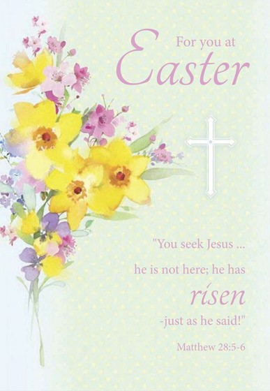 Easter Cards: For You At Easter (Pack of 5) (Cards)