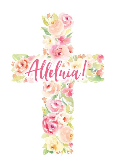 Easter Cards: Alleluia (Pack of 5) (Cards)