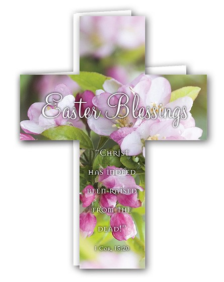 Easter Mini Crosses: Easter Blessings (Apple Blossom) (Pack (Cards)