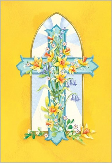 Easter Cards: Cross (Pack of 5) (Cards)