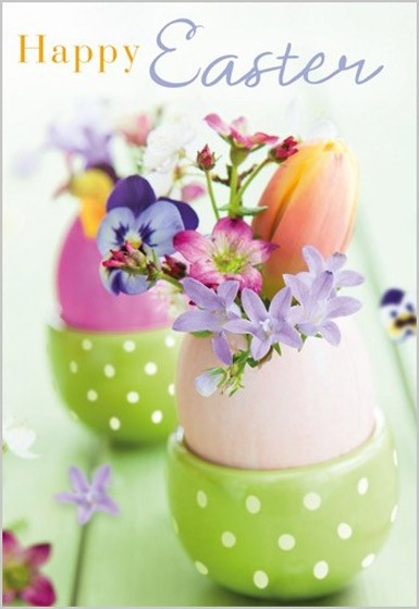 Easter Cards: Happy Easter (Pack of 5) (Cards)