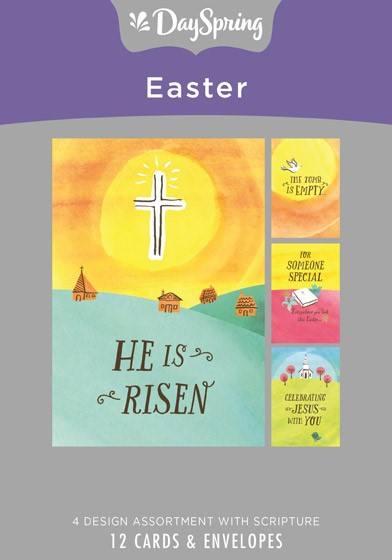 Easter Cards: He Is Risen Box of 12 Cards & Envelopes (Cards)