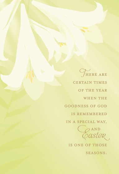 Easter Cards: Easter Lillies (Pack of 6) (Cards)