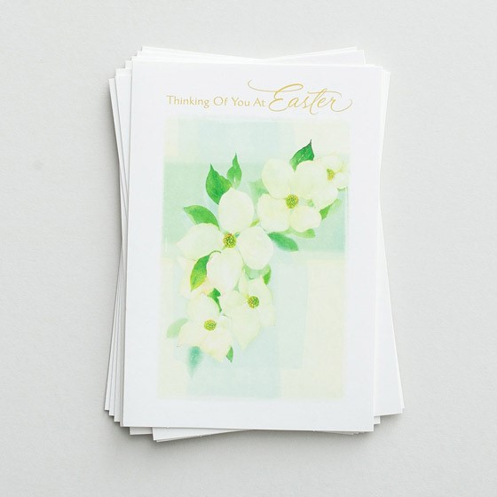 Easter Cards: Thinking Of You At Easter (Pack of 6) (Cards)