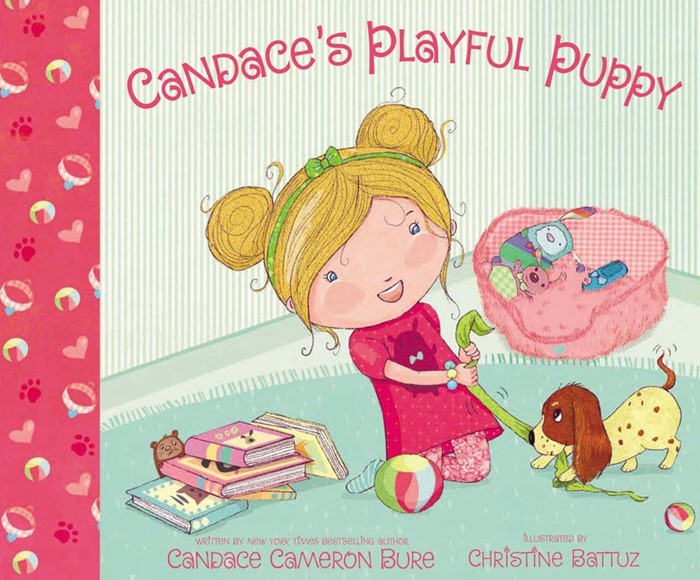 Candace's Playful Puppy (Hard Cover)
