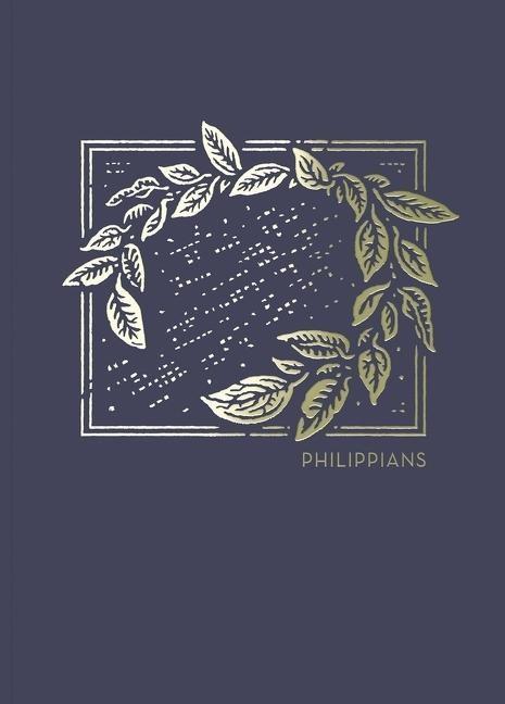 NET Abide Bible Journal: Philippians (Paperback)