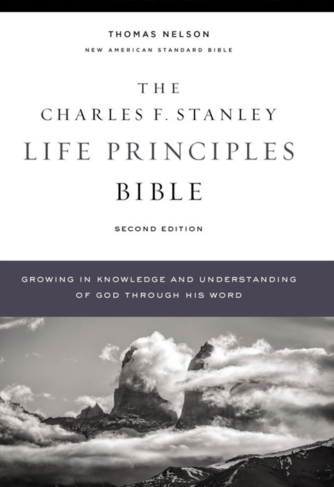 NASB Life Principles Bible, 2nd Edition (Hard Cover)