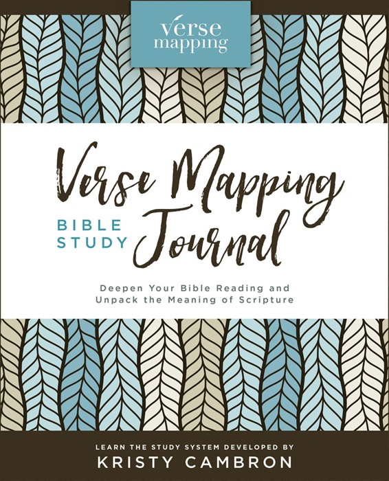 Verse Mapping Bible Study Journal (Hard Cover)
