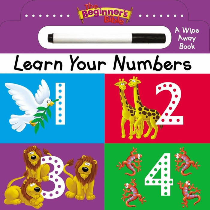 The Beginner's Bible: Learn Your Numbers (Board Book)