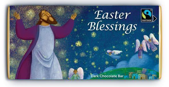 Easter Blessings Dark Chocolate Bar (General Merchandise)
