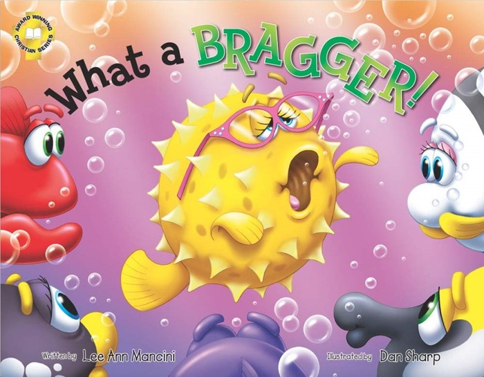 SeaKids: What a Bragger (Bragging) (Hard Cover)
