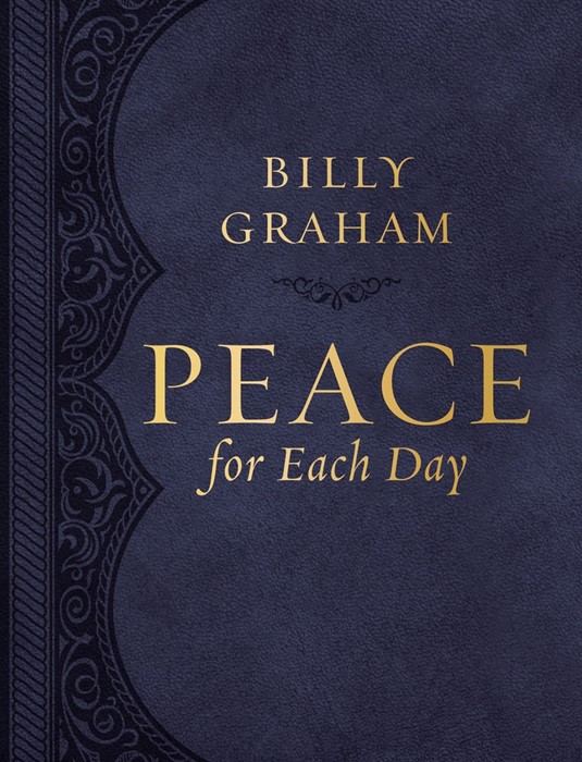 Peace for Each Day Leathersoft (Hard Cover)