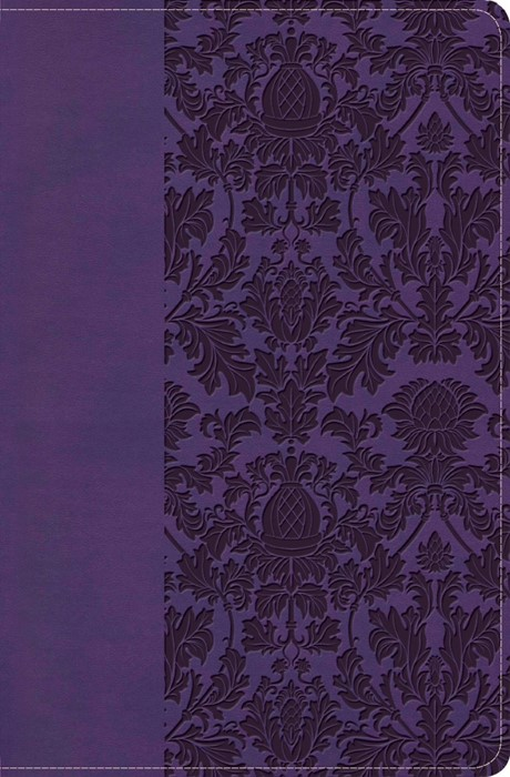 KJV Large Print Personal Size Reference Bible, Purple (Imitation Leather)