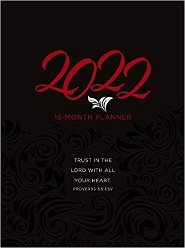 2022 18-Month Planner: Trust in the Lord (Imitation Leather)