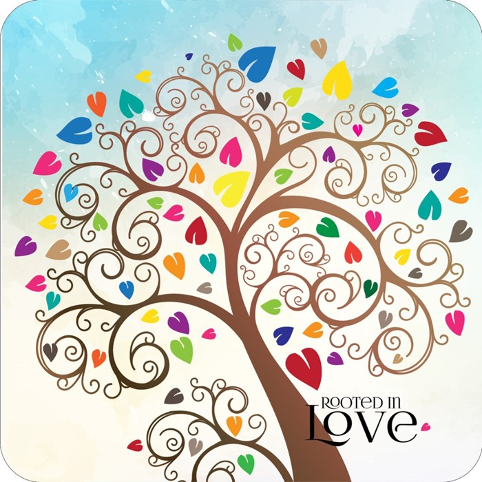 Rooted in Love Coaster (General Merchandise)