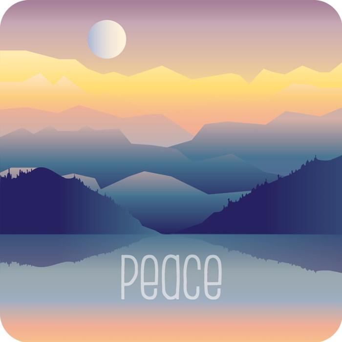 Peace Coaster (General Merchandise)