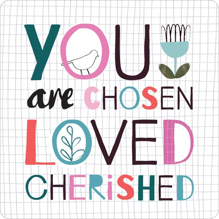 You Are Chosen Coaster (General Merchandise)