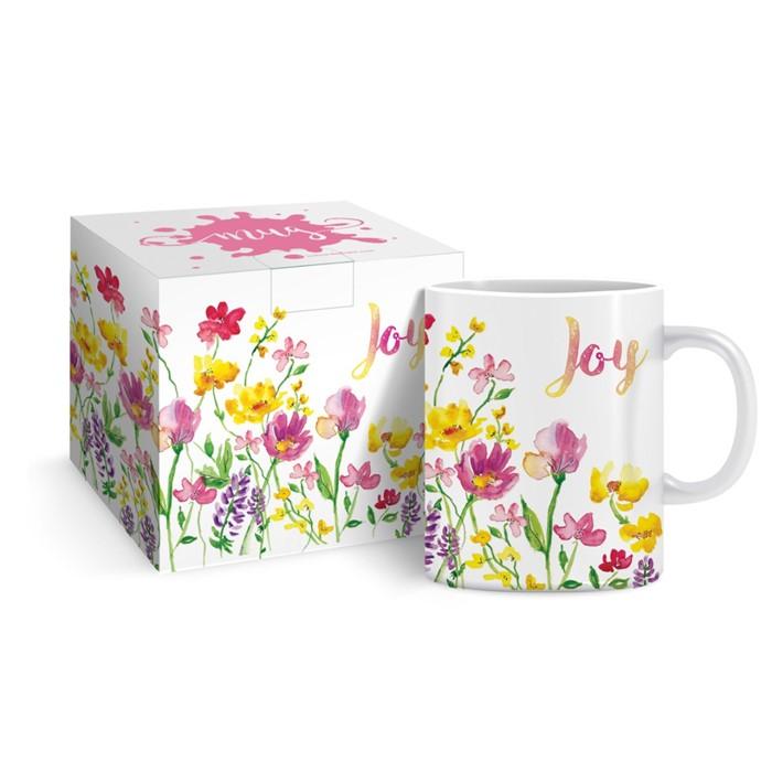 Joy Flowers Mug & Gift Box (General Merchandise)