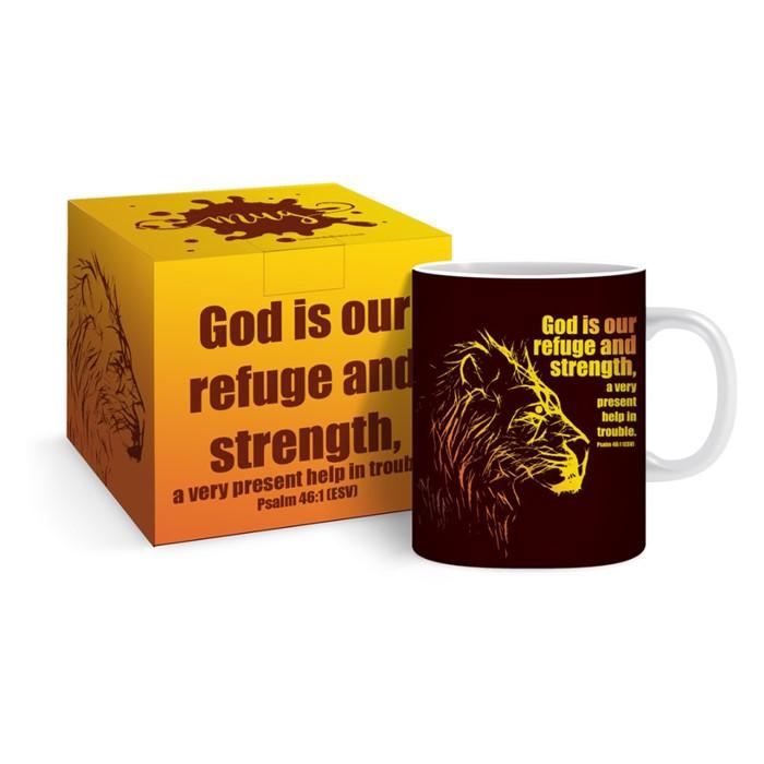 Lion Mug & Gift Box (General Merchandise)
