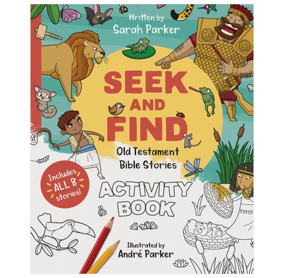 Seek and Find: Old Testament Activity Book (Paperback)