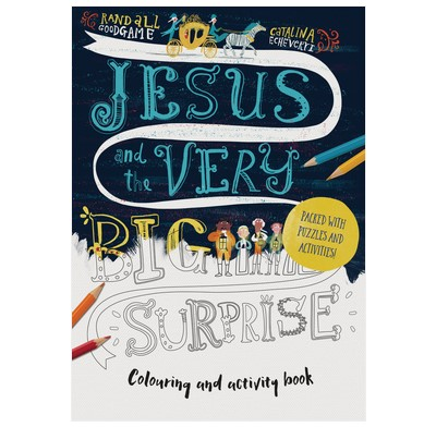Jesus and the Very Big Surprise Colouring and Activity Book (Paperback)