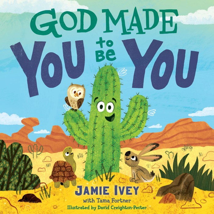 God Made You to Be You (Board Book)