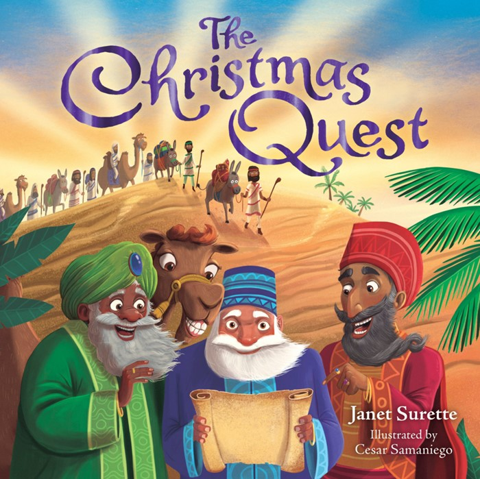 The Christmas Quest (Board Book)